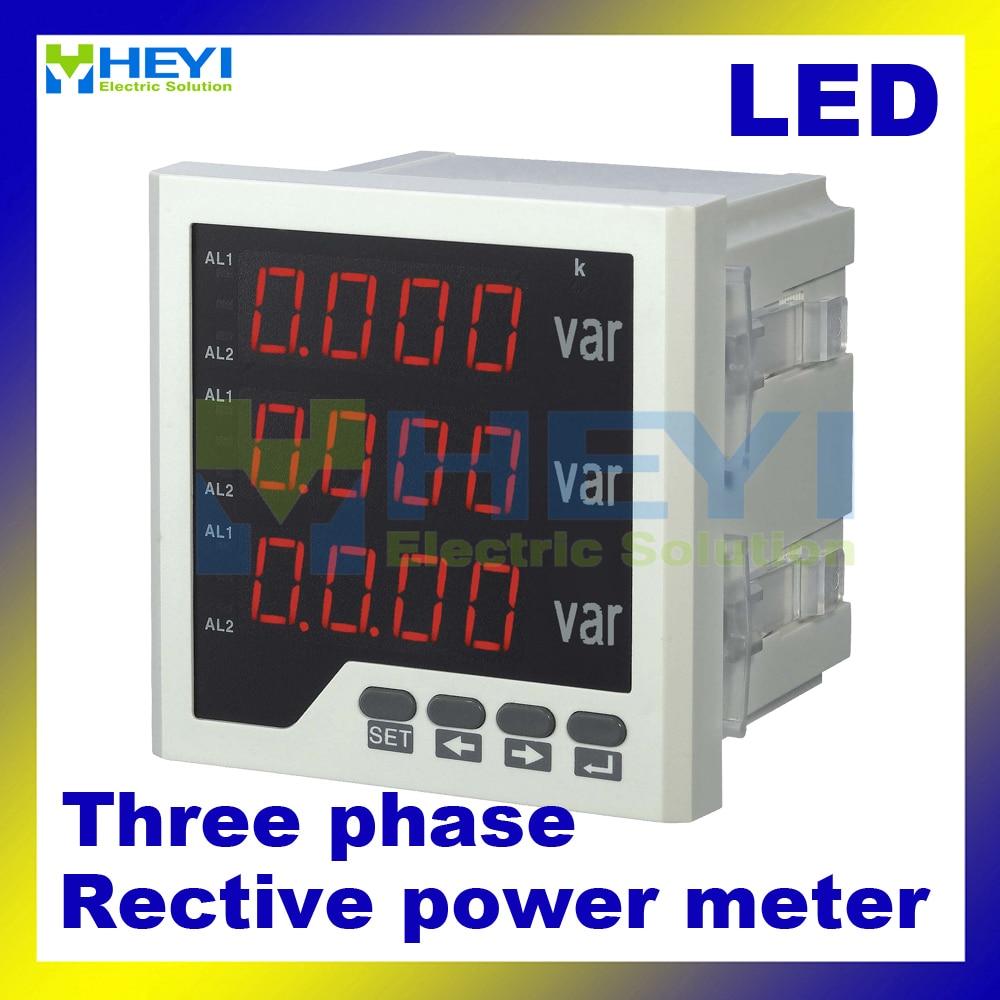 все цены на  Three phase digital reactive power meter 120*120/96*96/72*72/80*80 mm LED digital panel meters HY-3Q  онлайн