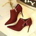 Women Pumps Brand Women Shoes High Heels Sexy Pointed Toe High Heels Women Wedding Shoes Red