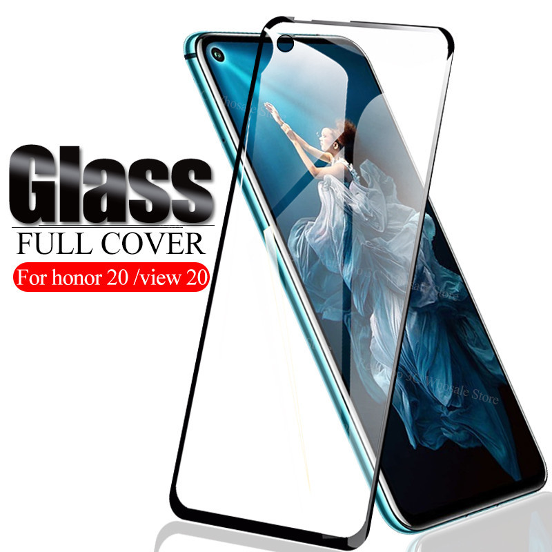 Tempered Glass On Honor 20 Screen Protector For Huawei Honor View 20 Display Armor Honor20 View20 Honer V20 9H Safety Glas Cover