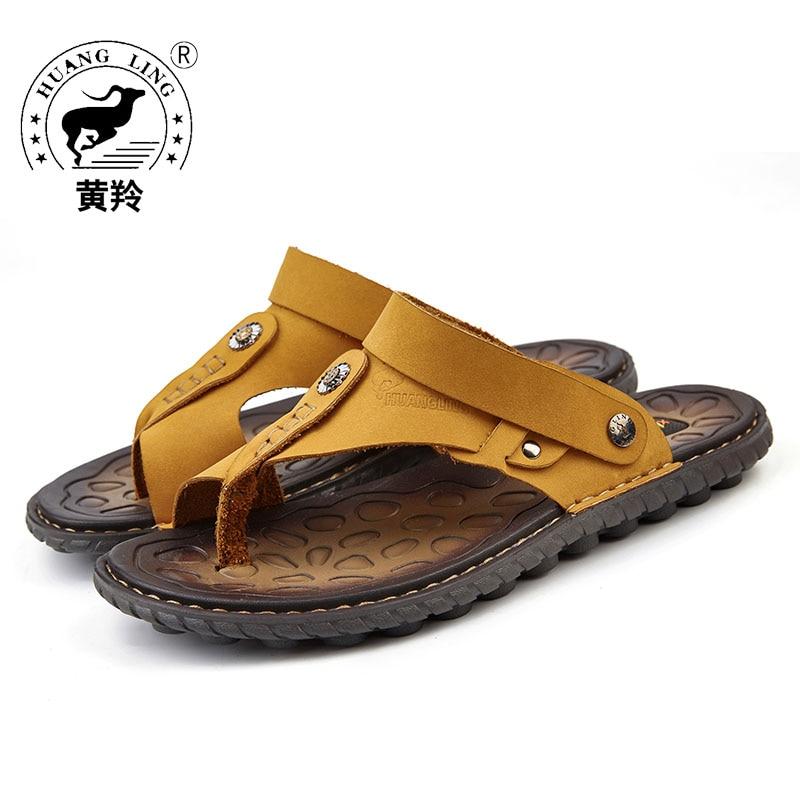 2017 Summer New Arrival HUANGLING Fashion Men Sandals
