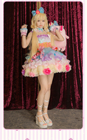 The Idolmaster Cinderella Girls Anzu Futaba Cosplay Costume Party Clothing Sweet Lovely Women Dress Z