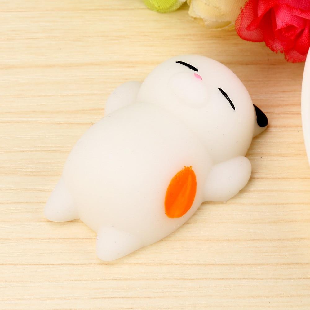 Cute Mochi Squishy Cat Squeeze Healing Fun Kids Kawaii Toy Stress Reliever Decor TPR animal Noverty Toys Anti Stress P3