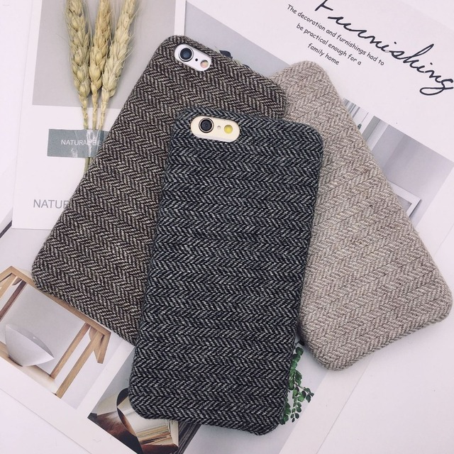 new concept 1dca9 9d392 US $1.83 19% OFF Kuutti Squishy White Gray Coffee Cloth Fabric Phone Case  for iPhone 6 6s Cover for iPhone 7 Case for iPhone X Case Accessories-in ...