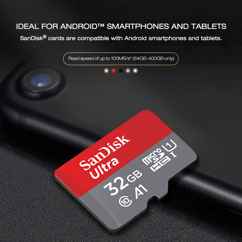 Image 5 - Original Sandisk micro sd card 16gb 32gb 64gb 200gb cartao de memoria carte micro sd 128gb class 10 up to 90MB/s memory card-in Memory Cards from Computer & Office