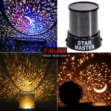 2017 New Amazing Flashing Colorful Sky Star Master LED Night Light Lovely Sky Starry Star Projector Novelty Gifts Children Baby