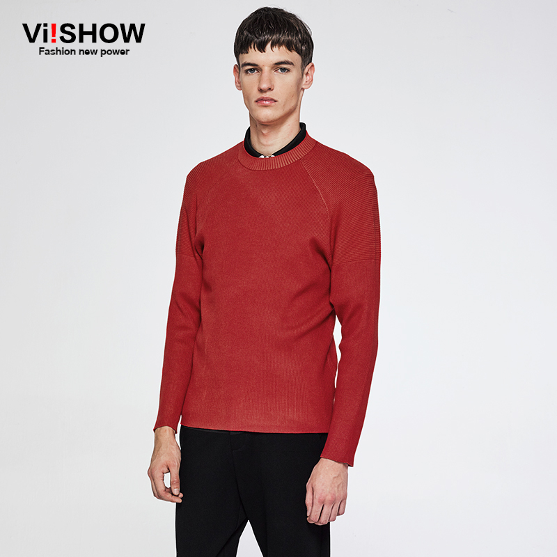 VIISHOW 2018 Autumn Fashion Brand Casual Sweater O-Neck Slim Fit Knitting Mens Sweaters And Pullovers Men Pullover Men ZC35763