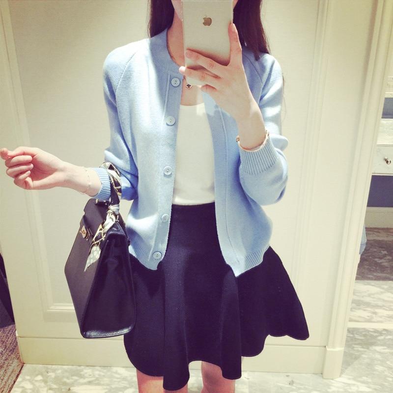 Weibliche Herbst Oberbekleidung koreanischen Stil Einreiher - Damenbekleidung - Foto 1