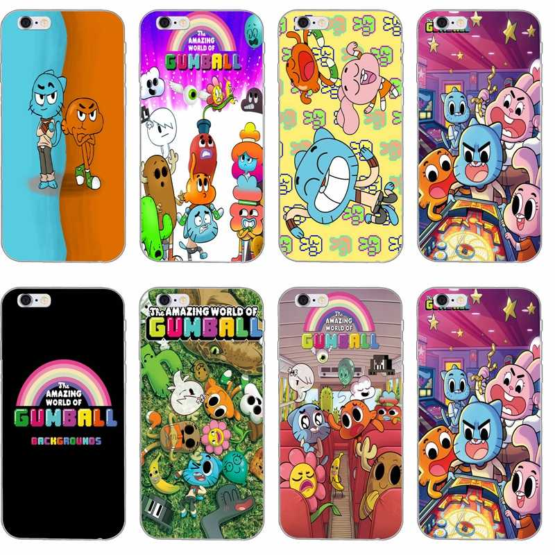 4bb9b16b03 cute The Amazing World of Gumball Silicone TPU Soft phone case For Samsung  Galaxy S3 S4