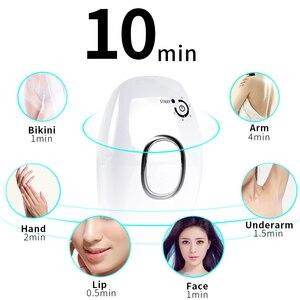 Image 2 - professional permanent IPL epilator 600000 flash laser hair removal electric photo women painless threading hair remover machine