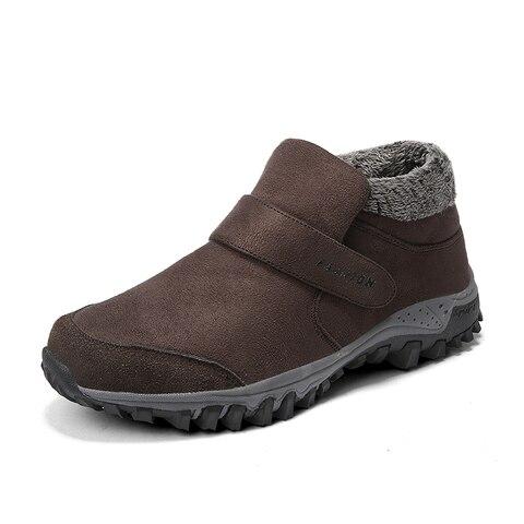 Super warm winter Men boots shoes Russian style winter snow boots suede leather Men women boots with fur winter shoes men Lahore