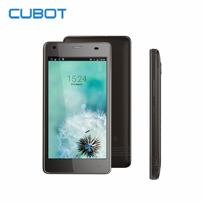 CUBOT ECHO 5 0 inch HD 4G Mobile Phone Android 6 0 MTK6580 Quad Core 2GB