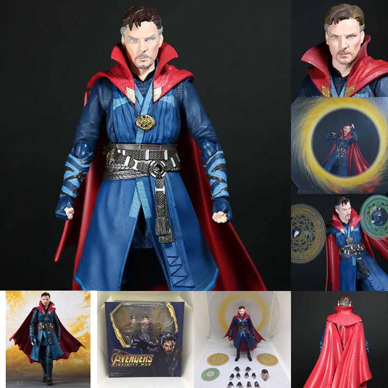 SHFiguarts Film Avengers Infinity 3 Guerra Dottor Strange di Azione del PVC Figure Collection Model Toy Doll