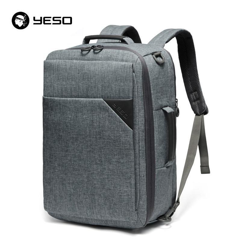 Yeso Multifunctional Laptop Backpack Men 15.6 Inch 3 In 1 Casual Backpack Unisex 2019 Oxford Bag Business Computer Backpack Bags