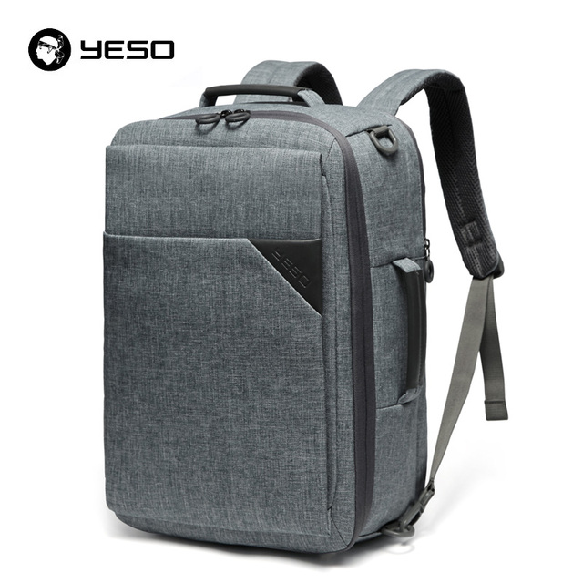 YESO Multifunctional Travel Backpacks Men fit 15.6 Inch Laptop 3 In 1 Casual Backpack 2019 Business Computer Backpack Bags