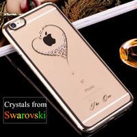 KINGXBAR Cover For IPhone 6s Plus Cover Shell Plating Hard Case For IPhone 6s Plus 6