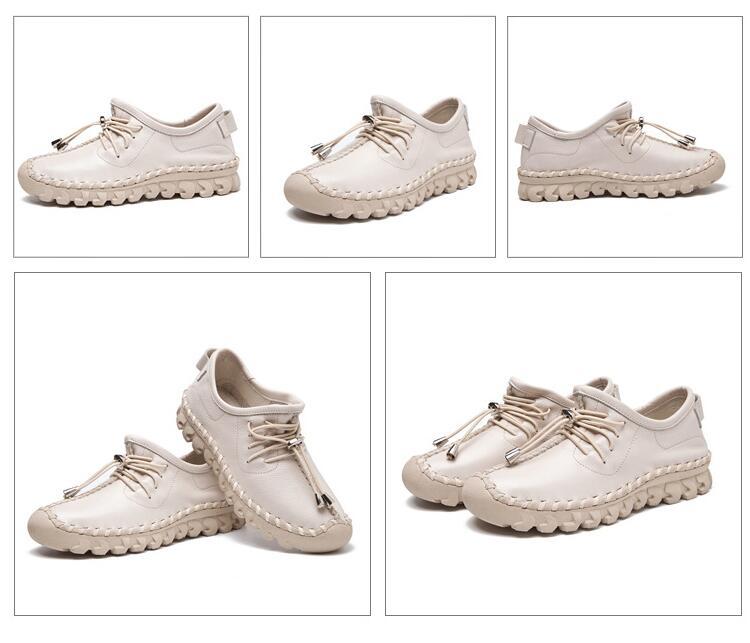 Gktinoo oxford costura apartamentos mocassins femininos sapatos