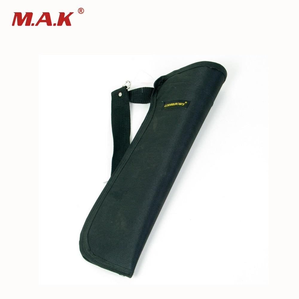 Высокое качество 19 колчан сбоку пояс держатель сумка с Ткань Оксфорд традиционная стрельба из лука аксессуар черный Оксфорд стрелка сумка