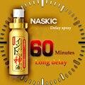 (2 unids) Caliente Japón NASKIC dios loción largo tiempo sexo aerosol retraso para los hombres pene 60 minutos retardante eyaculación productos del sexo