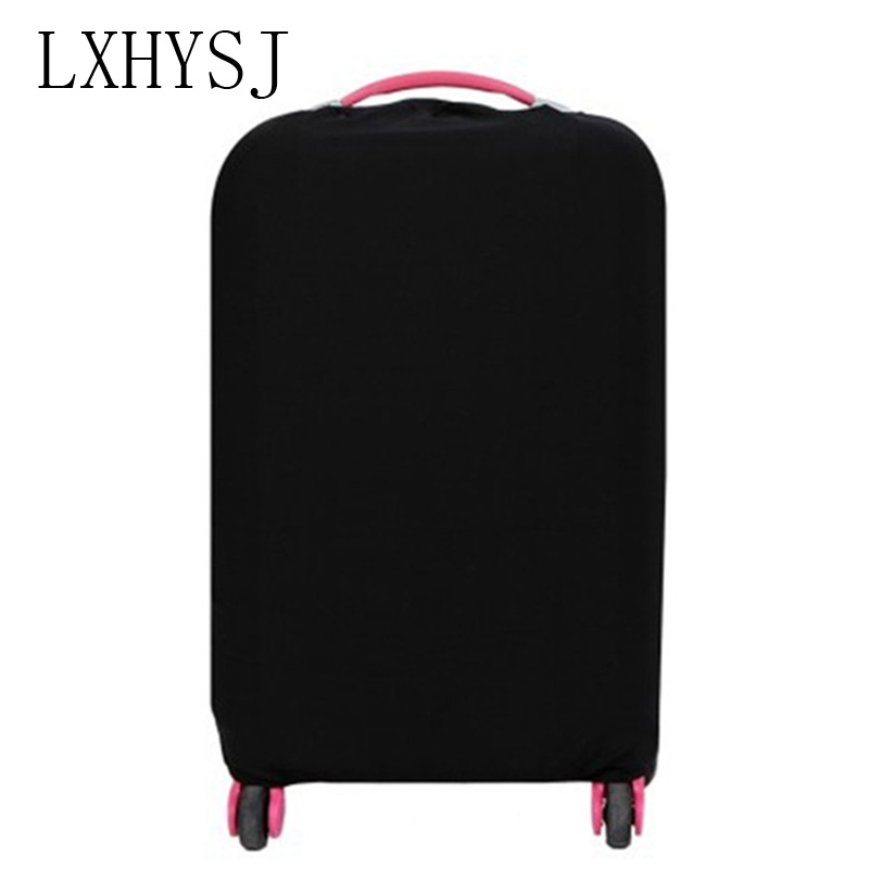Solid color Travel suitcase dust cover  Luggage Protective Cover  For 18-30 inch  Trolley case dust cover Travel Accessories(China)