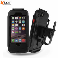 Waterproof Phone Case Holder Bicycle Phone Stand Support For IPhone7 5s 6s Motorcycle GPS Holder Support