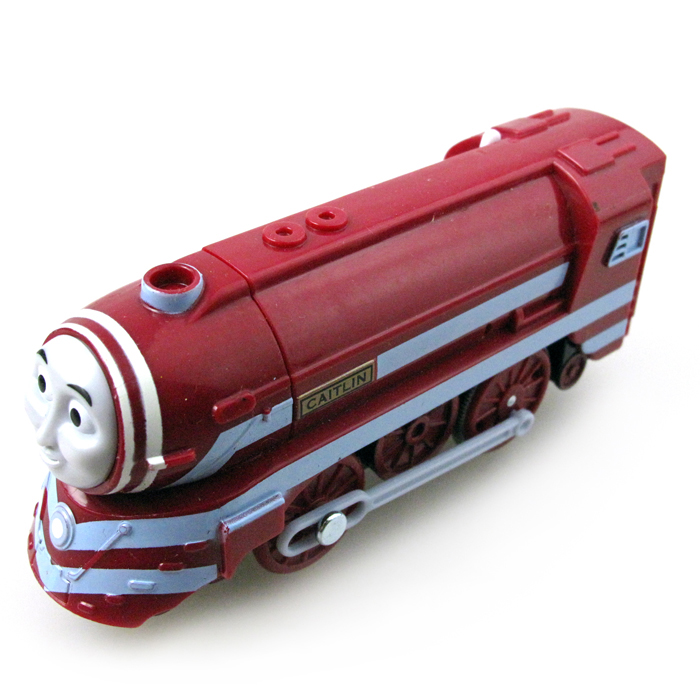 Electric Train T022E CAITLIN Fit for Tomas Trackmaster Magnetic Truck Locomotive Engine Railway Toys for Boys