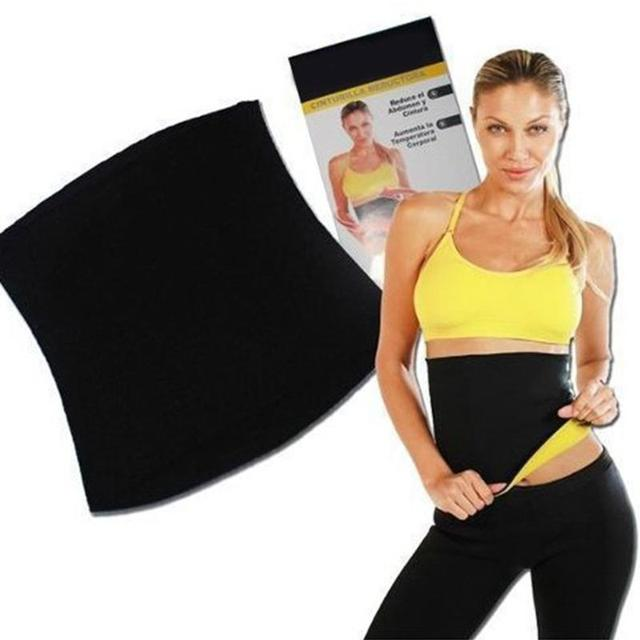 Lover Beauty Thermo Sweat Sauna Slimming Waist Lady Weight Loss Belt Women Protect waist loose weight  Equipment 1