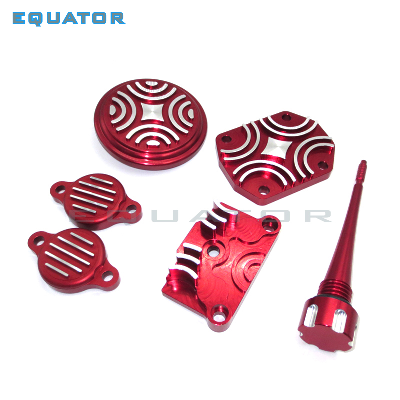 Back To Search Resultshome Red Engine Dress Up Kit Tappet Cover Chinese 110cc 125cc Atv Quad Dirt Pit Bike