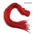 Special tassel materials DIY/manual/red/stone necklace rope wholesale price of grain son red rope raw materials
