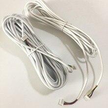 4 ядра кабель 5 м для видео домофона дверной звонок Домофон аксессуары