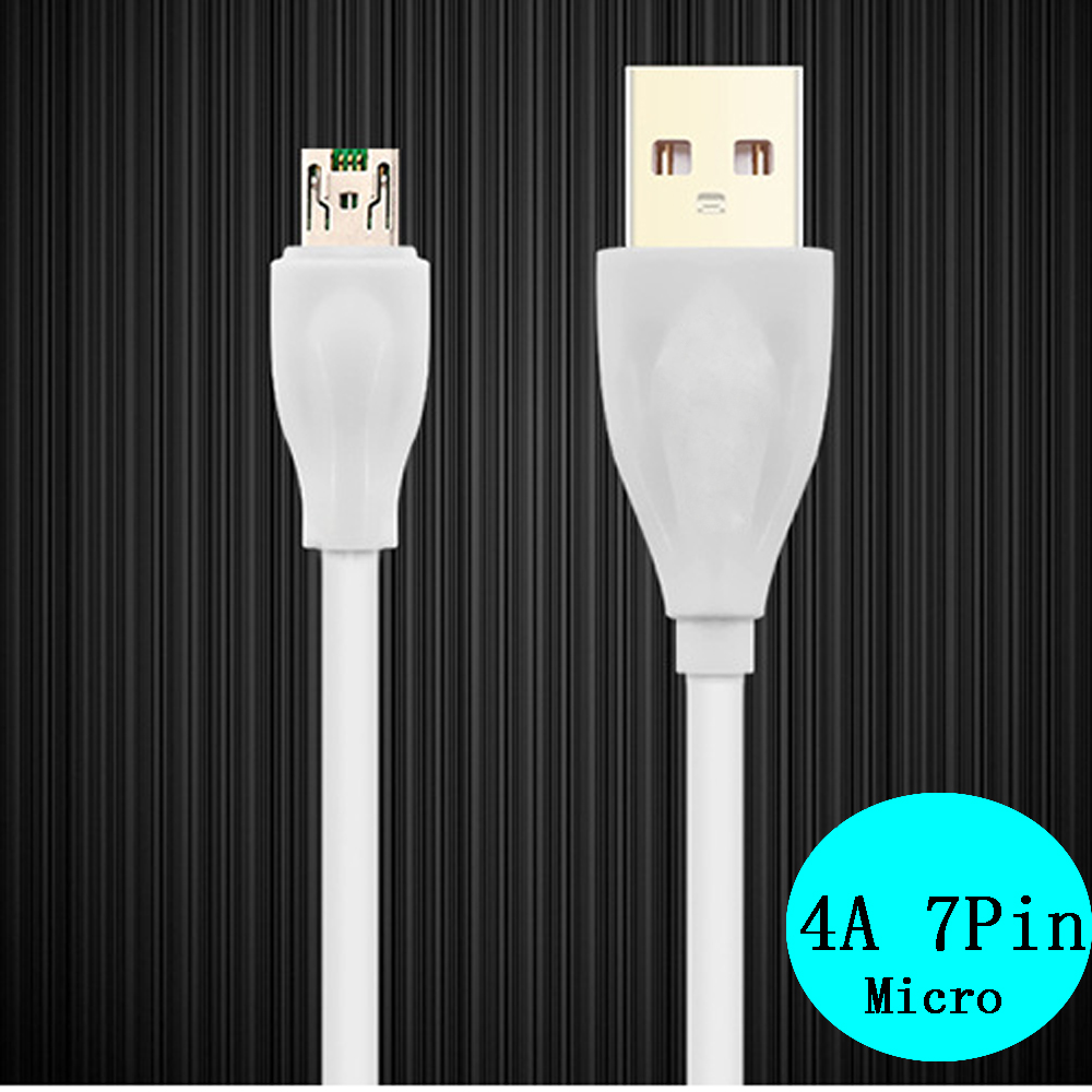 Fast Charging data Sync Charger Cable Micro USB Cable 4A Fast Charge Power 1M Data Cable in Data Cables from Consumer Electronics