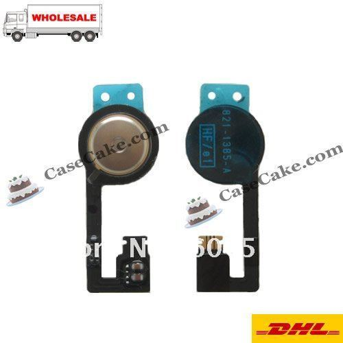 Wholesale 500pcs/lot can Mix Orders Home Button Flex Cable Ribbon for iPhone 3G/3GS/4G/4S+Free Shipping