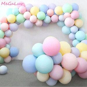 30pcs Macarons Latex Ballon Balony Birthday Party Candy Balloons Birthday Party Decorations Girl Boy Baby Shower Wedding Golobos(China)