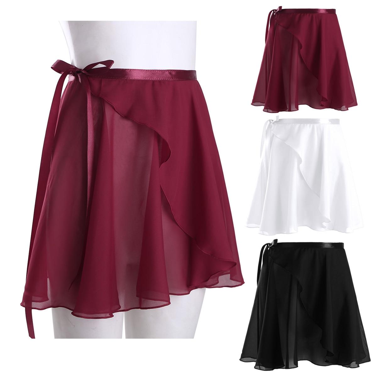 Kid Children Ballet Tutu Dance Chiffon Skirt Skate Dancewear Dress Girl-Costum