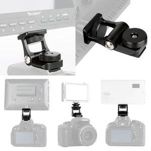 Image 2 - Ulanzi soporte para Monitor, brazos móviles duales, rotación de 180 grados, soporte de zapata fría para cámaras DSLR, Monitor de vídeo