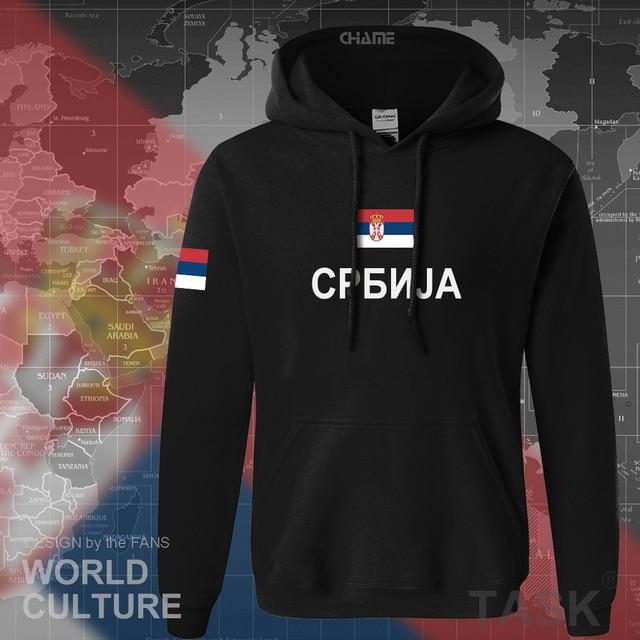 Serbia Serbian Serbs hoodies men sweatshirt sweat new hip hop streetwear clothing sporting top tracksuit nation 2017 SRB Srbija 1