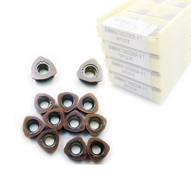 50PCS SUNVO JOMW06T215/JOMW080320/JOMW09T320/JOMW120420 ZZSR-FT VP15TF JOMW CNC Carbide Inserts