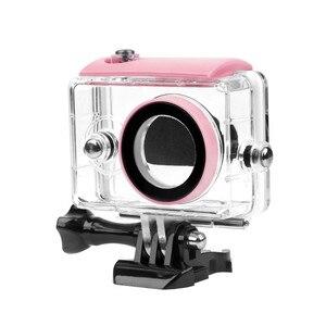 Image 2 - Boîtier étanche 40M pour Xiaomi Yi 2K étui pour caméra daction Yi accessoires