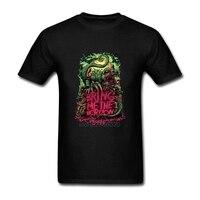 Bring Me The Horizon Men's T Shirts Men Death Metal Music Band BMTH T-Shirt Short Sleeve O Neck Monster Tops Tees Plus Size 3XL