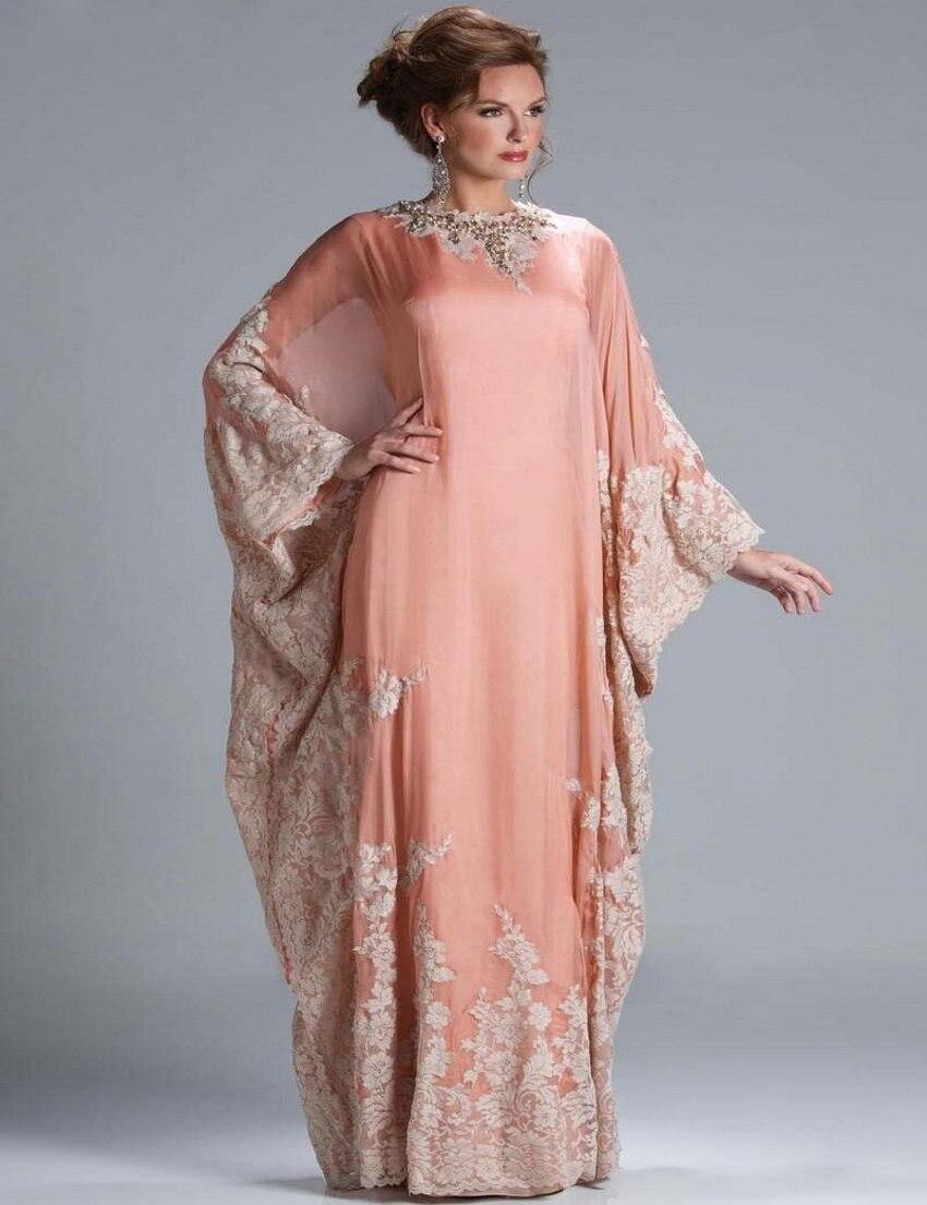 achetez en gros manches longues robe musulmane du soir