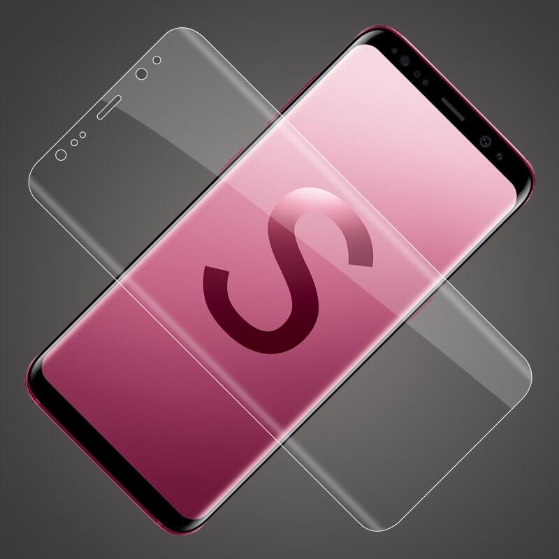 Film Para Samsung Galaxy Note 8 9 S9 S8 Plus tela note8 Protetor de Tela Para Samsung s9 s8 mais S9plus protetor de Borda S6 S7