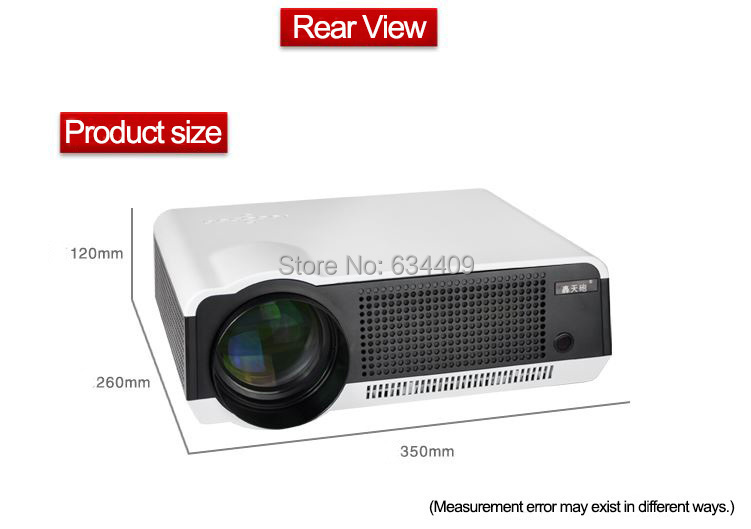 full hd led-86 1080p projector