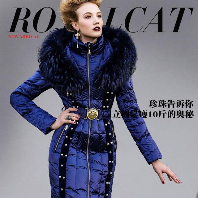 bc4614ae6d3cf Royalcat Women Down Jacket Brand 2016 Winter Jacket Women Down jackets parka  Luxury down coat beading womens downs coat overcoat
