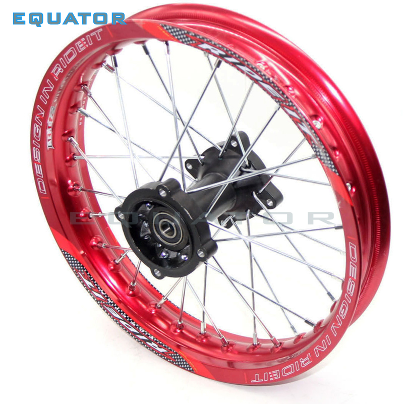 Dirt Pit Bike 14Rear Wheels 1.85x14 inch For KAYO BSE Apollo Xmotos CRF50 CRF70 KLX110 TTR110 125 140 160cc MX Parts image