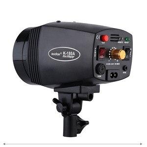 Image 2 - Godox K 180A k180a portatile mini master studio de luce del flash k180a 180ws 180 w piccolo studio fotografia 110 v/220 v