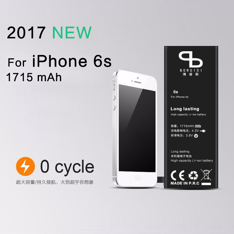 Replacement iPhone6s-Battery Suitable for 1715mah Zero-Cycle Lithium-Ion New