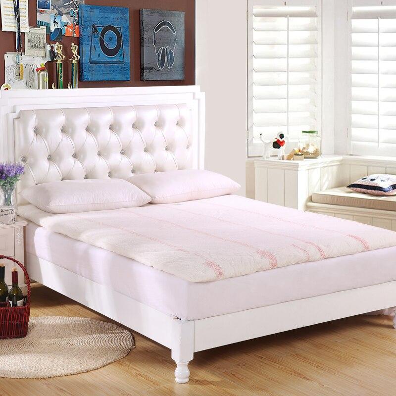 Svetanya matelas en coton chinois lit mince et chaud tapis de lit double reine roi taille