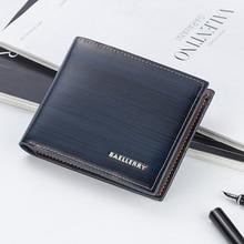 Baellerry brand wallet men's leather men's