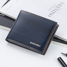 Baellerry brand wallet men's leather men's wallet short men's clutch bag leather wallet men's wallet card holder 2019 new