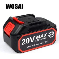 WOSAI 4.0AH 20 فولت الطاقة أدوات ليثيوم بطارية حزمة استبدال البطارية ينطبق آلة نموذج WS-B6 WS-L6 WS-H5 WS-F6