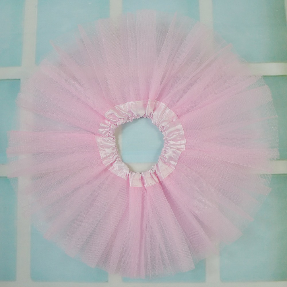 Nyfødte tulle Tutu Skjørt Baby Kids Chiffon Mini Dance Party Ballett Pettiskirt Tutu For Søte Barneklær Tutu Girls Skjørt